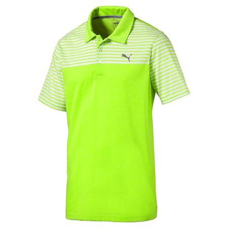 low priced f1de9 ab6a7 NEW Puma Clubhouse Acid Lime Golf Polo Men s Medium (M) Image 1 ...