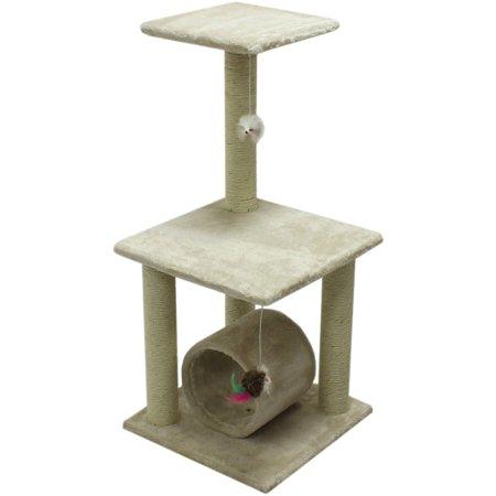 Aleko 33 Cat Tree Condo Scratching Post Pet Furniture Bigdealsmall Com
