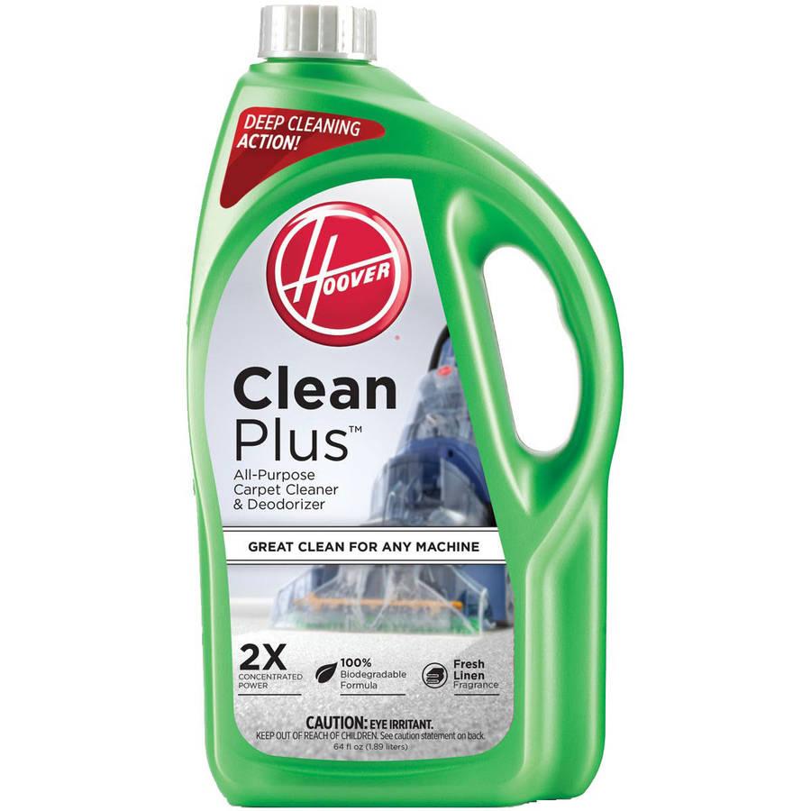 Hoover 2X CleanPlus Carpet Cleaner & Deodorizer 64 oz, AH30330